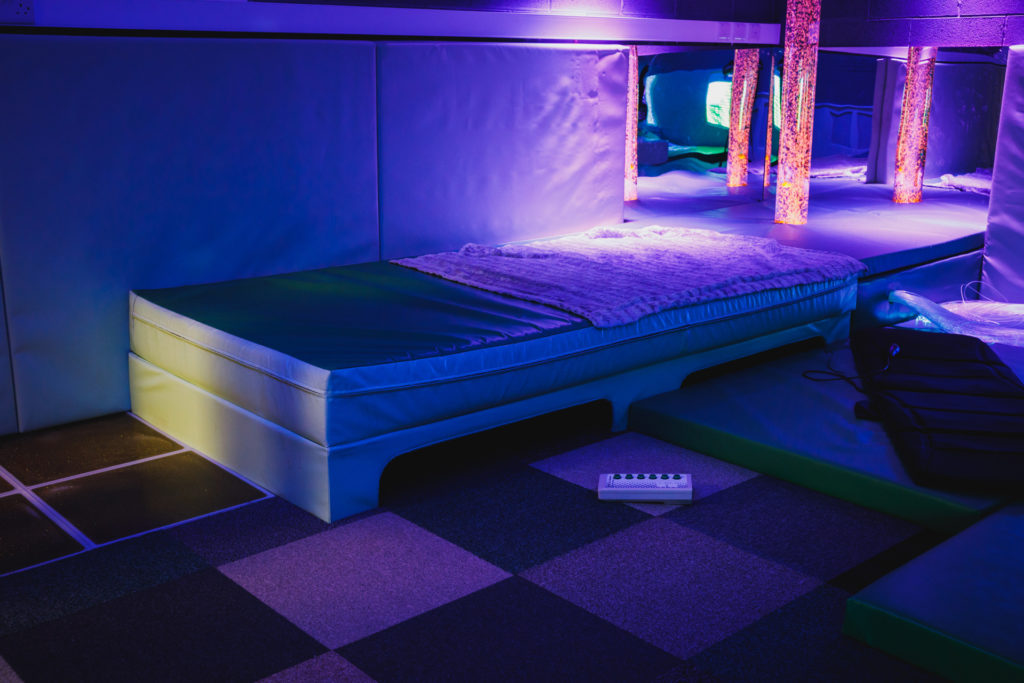 sensory room at charter house burnley