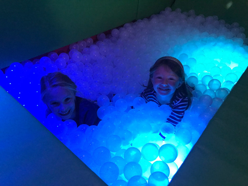 sensory room children's party