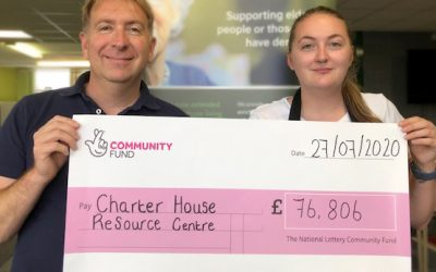 Charter House receives £76,000 lottery fund